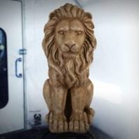 Original Surface Lion Statue