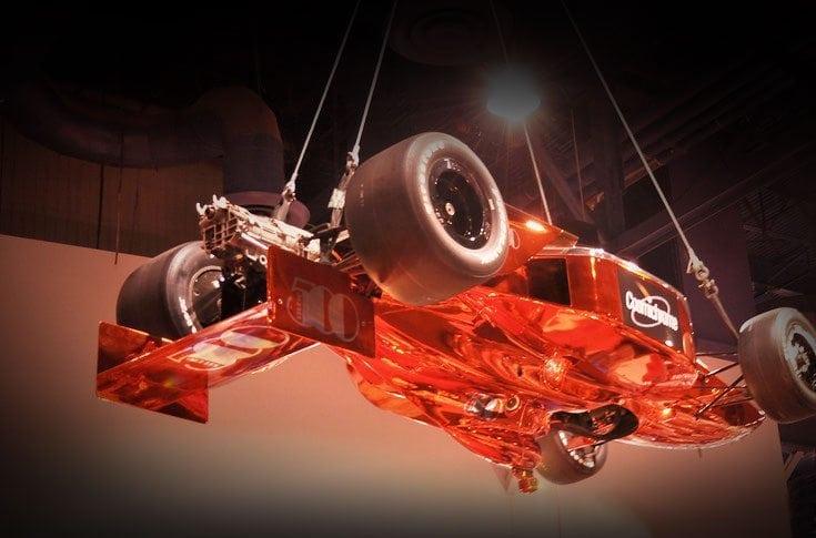 SEMA 2012 Orange Chrome Race Car