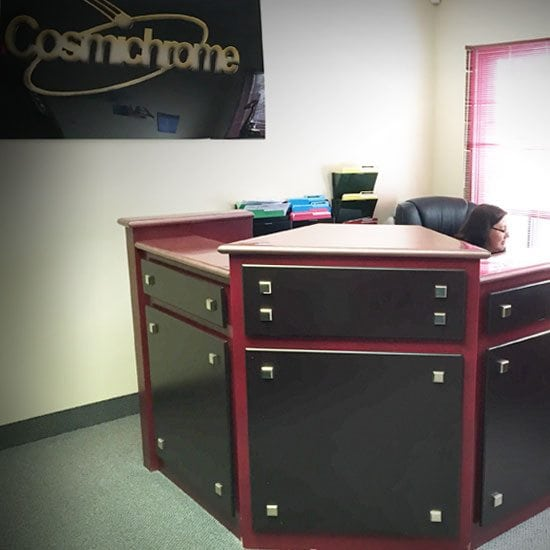 Cosmichrome Front Desk