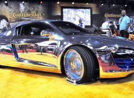 West Coast Customs chrome car