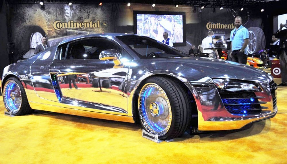 West Coast Customs chrome car