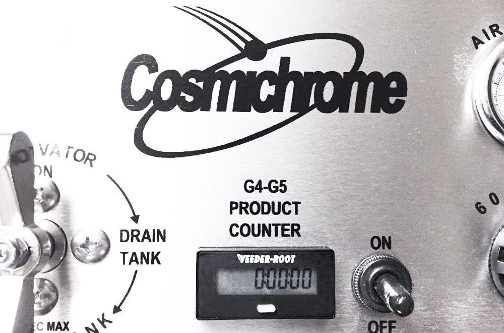 Cosmichrome Product Counter