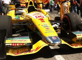 Chrome Andretti Race Car