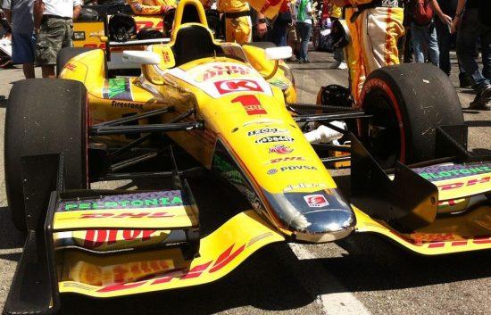 Chrome Andretti Race Car