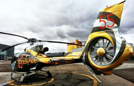 Chrome Helicopter