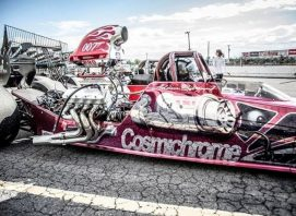 Chromed dragster