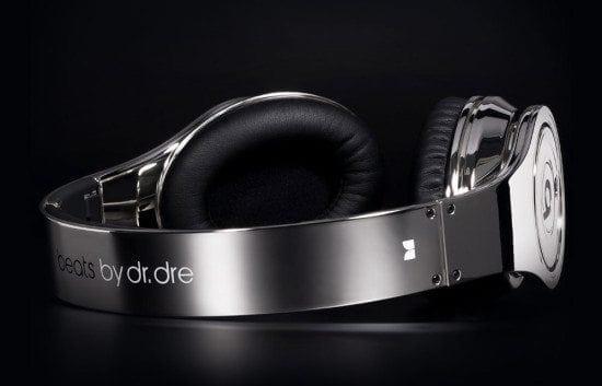 Chrome Dr.Dre Beats Headphones