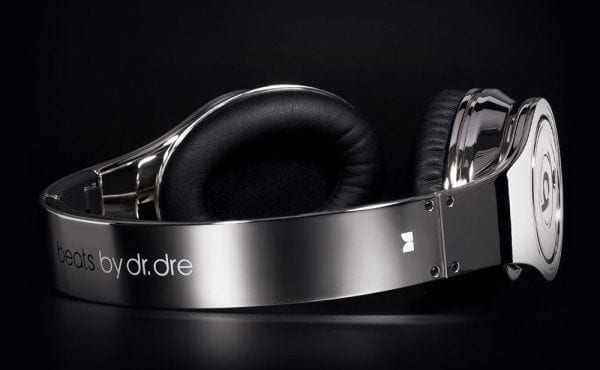 Chrome Dr.Dre Beats Headphones