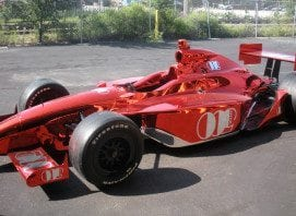 Red Chrome F1 Car