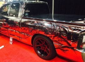 Chrome Truck at SEMA 2014