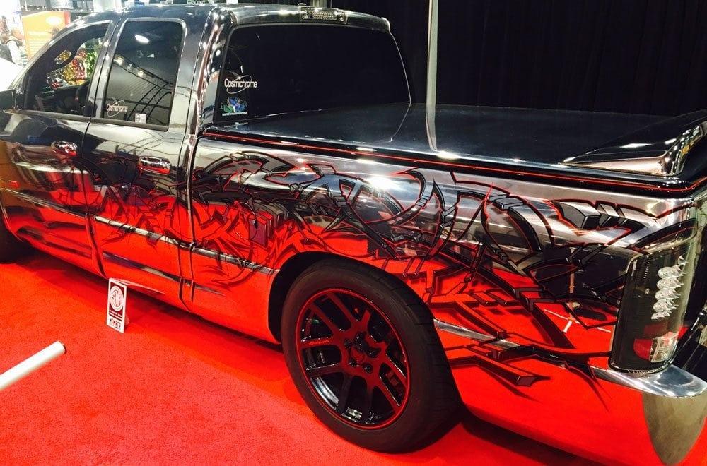 Chrome Truck at SEMA 2014
