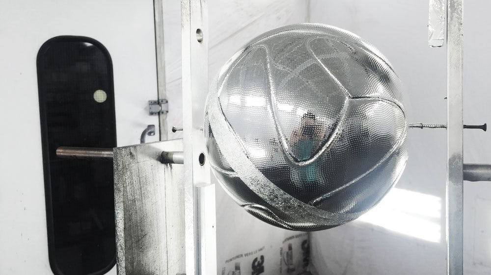 Chrome Soccer Ball