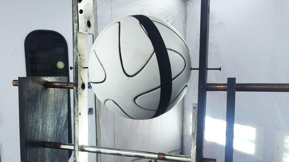 Pre-Chrome Soccer Ball