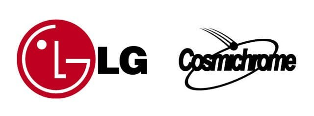LG and Cosmichrome logos