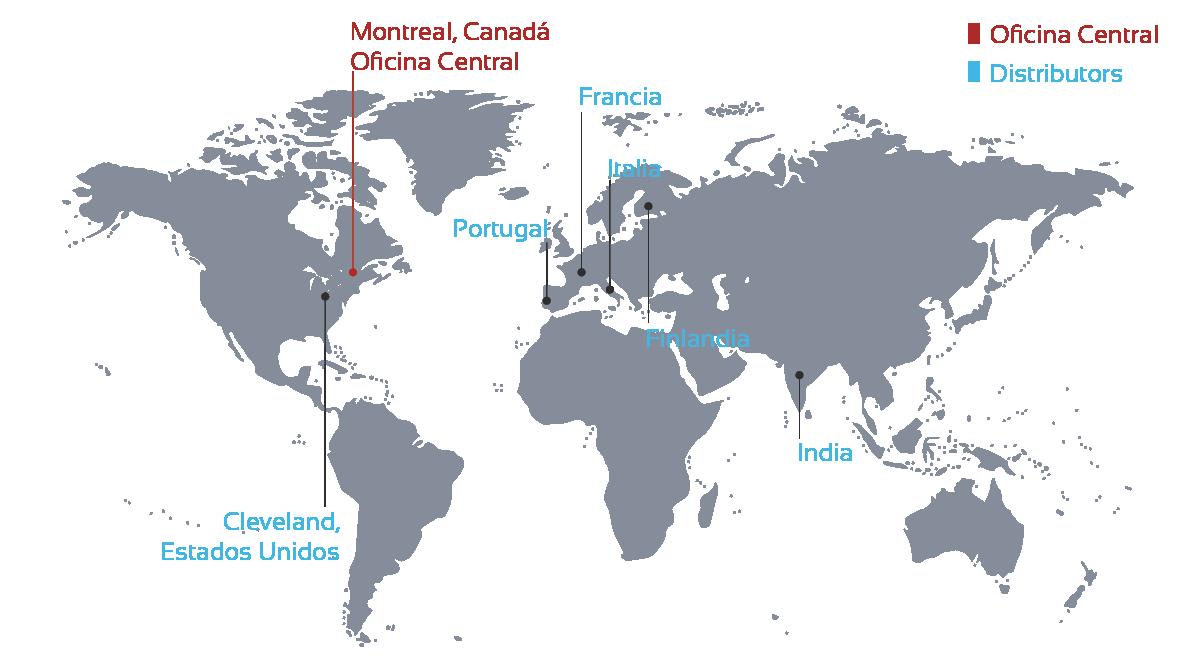 Mapa distribuidor español