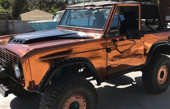 Copper chrome 74 bronco