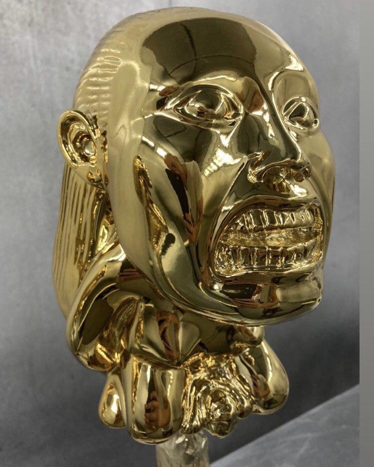 Raiders of the Lost Ark - Golden fertility goddess idol